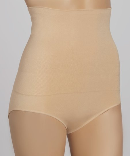 Nude Slimming High-Waisted Briefs