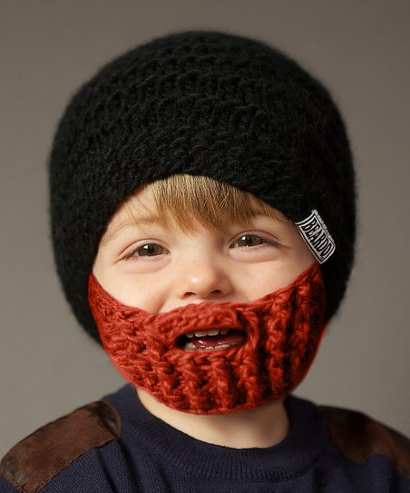 Black Beanie & Ginger Beard - Kids