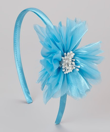 Turquoise Bloom Headband