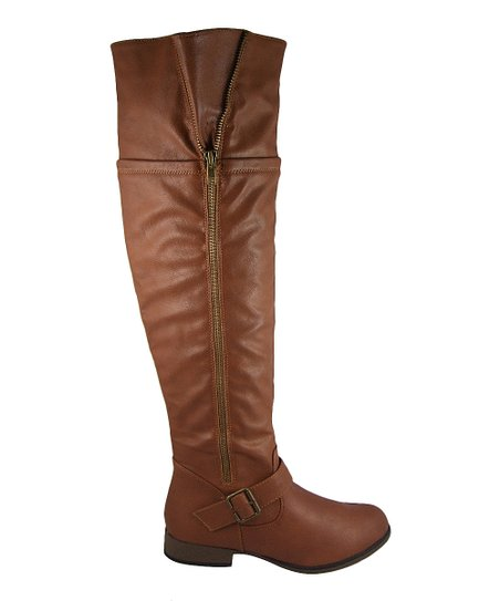 Tan Tall Legend Boot