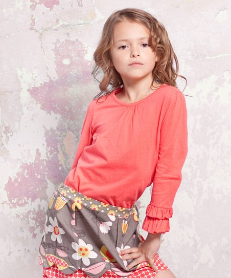 Indian Summer Emma Top - Infant, Toddler & Girls