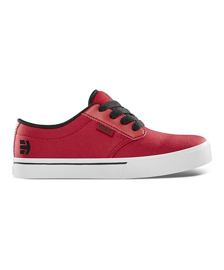 Red & Black Suede Jameson Sneaker