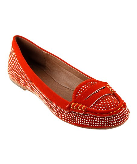 Orange Savvy Loafer