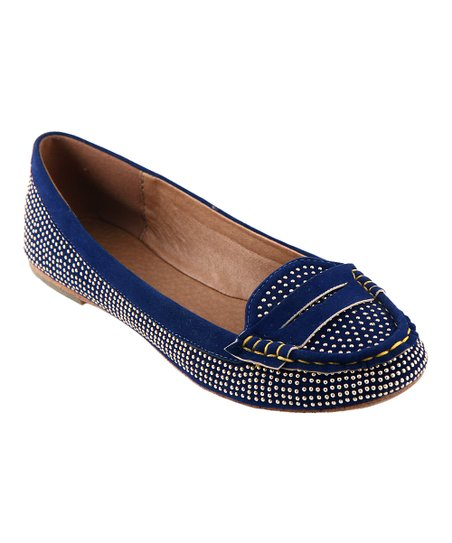 Navy Savvy Loafer