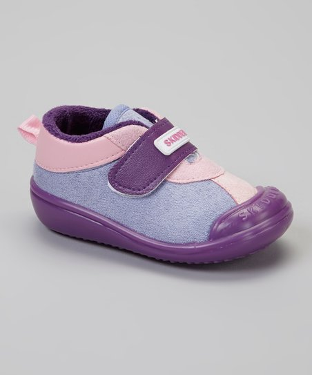 Purple & Pink Casual Sport Gripper Shoe