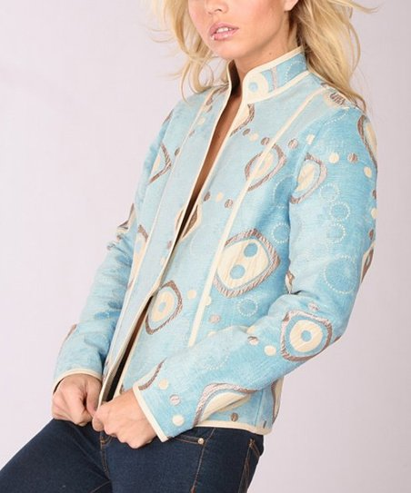 Blue Portofino Reversible Jacket