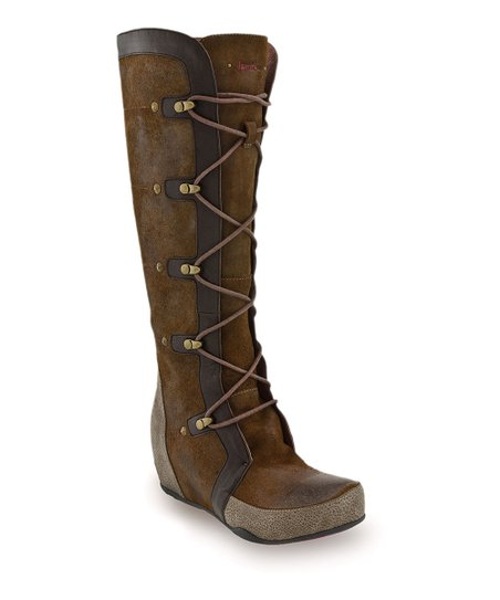 Brown Mulberry Boot - Women