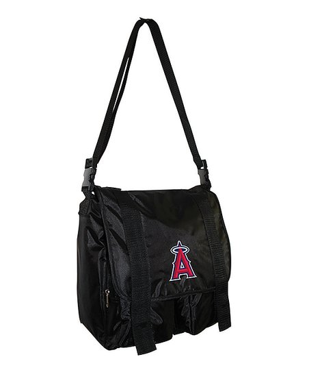 Black Los Angeles Angels of Anaheim Sitter Diaper Bag