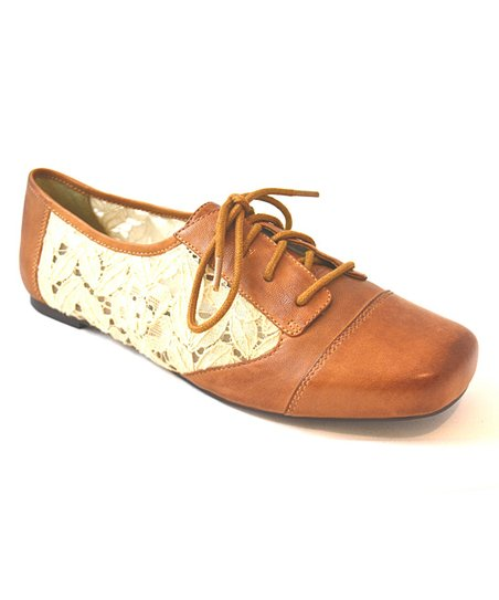 Tan Darryl Oxford Shoe