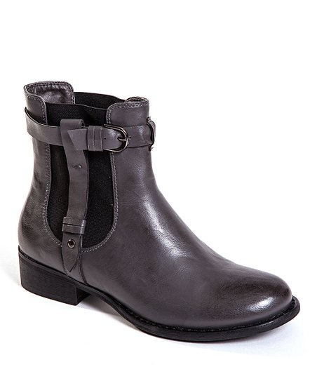 Gray Hansen Ankle Boot