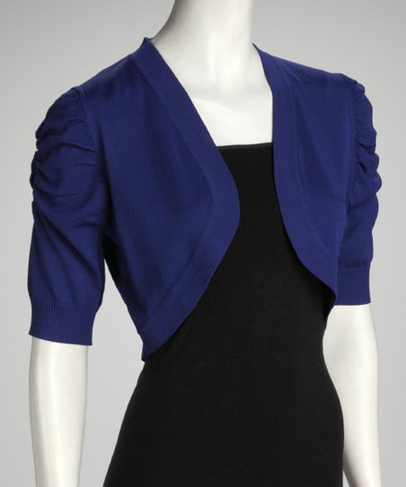 Royal Puff Sleeve Bolero - Women