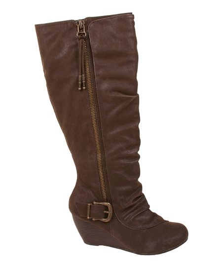 Dark Brown Bangle Boot