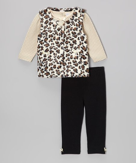 Black & Tan Vest Set - Infant
