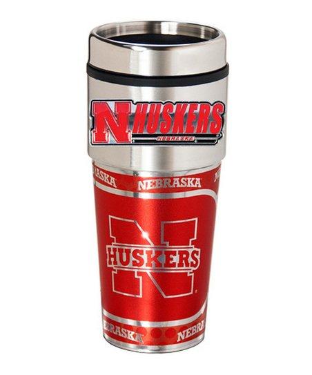 Nebraska Cornhuskers Travel Tumbler