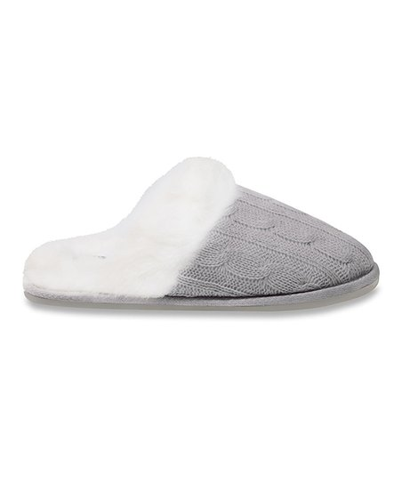Gray New Castle Slipper