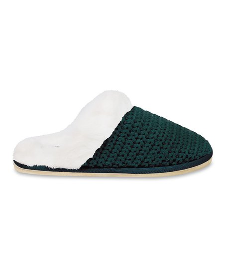 Teal Holly Grove Slipper
