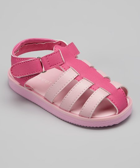 Pink Classic Closed-Toe Sandal
