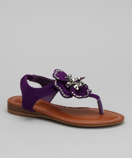 Purple Cat Sandal