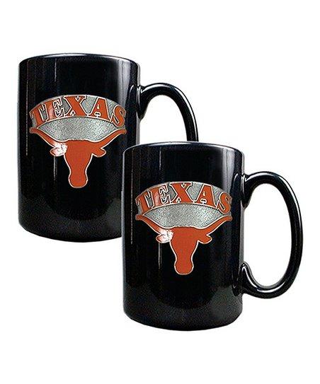 Texas Longhorns 15-Oz. Coffee Mug - Set of Two