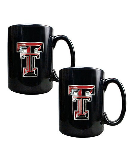 Texas Tech Red Raiders 15-Oz. Coffee Mug - Set of Two
