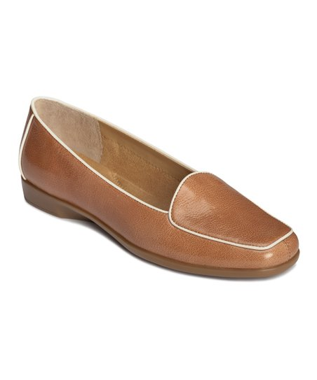 Light Tan Leather Survival Loafer