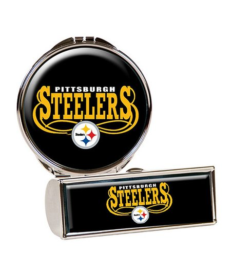 Pittsburgh Steelers Lipstick Case & Compact Mirror