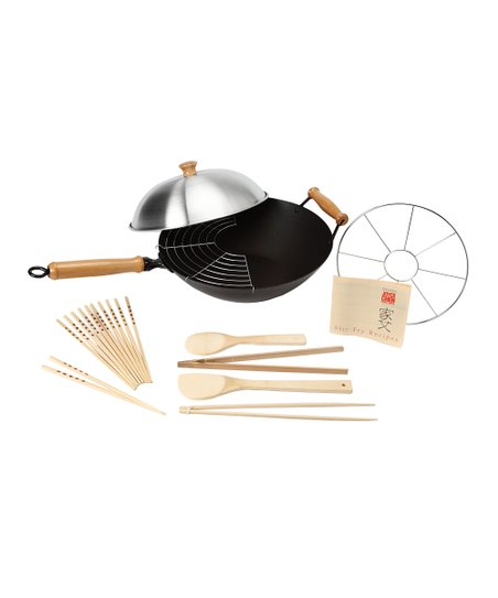 Excalibur Wok Set