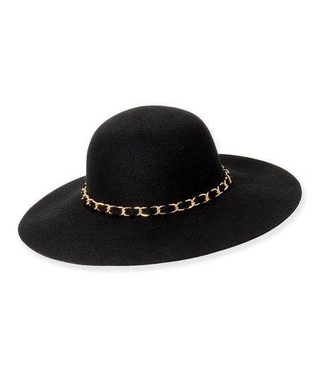 Black Chain-Link Ashford Wool Hat