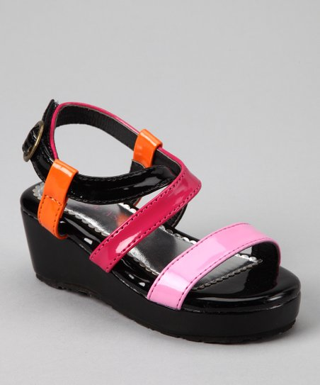 Black & Candy Wedge