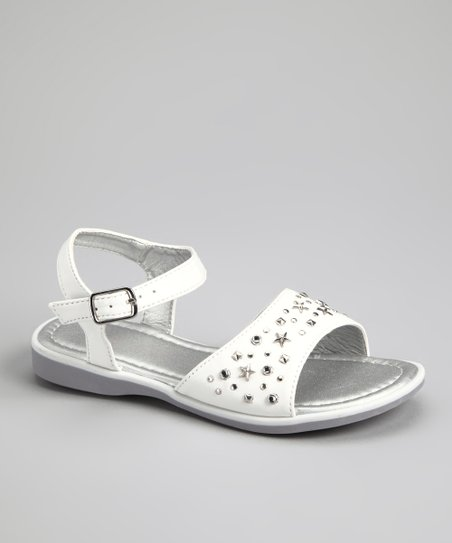 White Star Stud Sandal