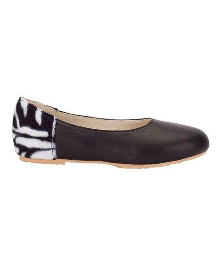 Black Zebra Leola Ballet Flat