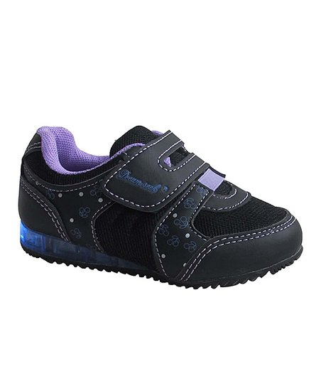 Black & Purple Cherry Light-Up Sneaker