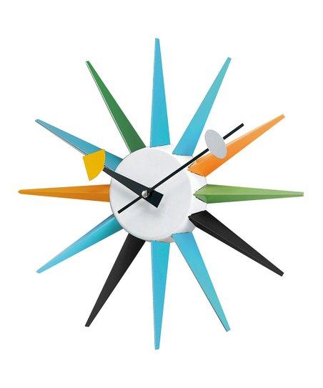 Boutique Sunburst Wall Clock