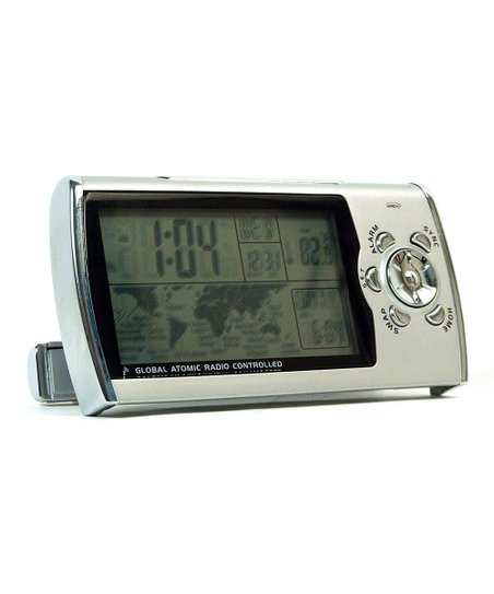 Global Radio Controlled Travel Clock