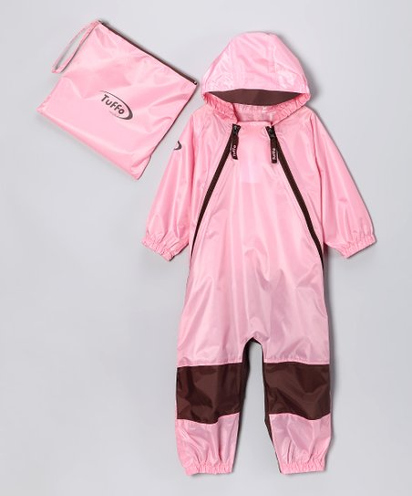 Pink Muddy Buddy Waterproof Coverall - Infant, Toddler &amp; Kids