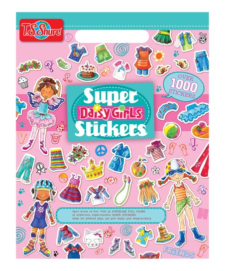 Daisy Girls Sticker Book