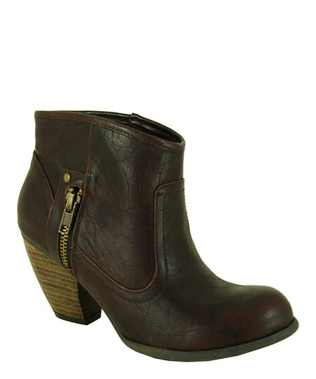 Brown Priority Ankle Boot