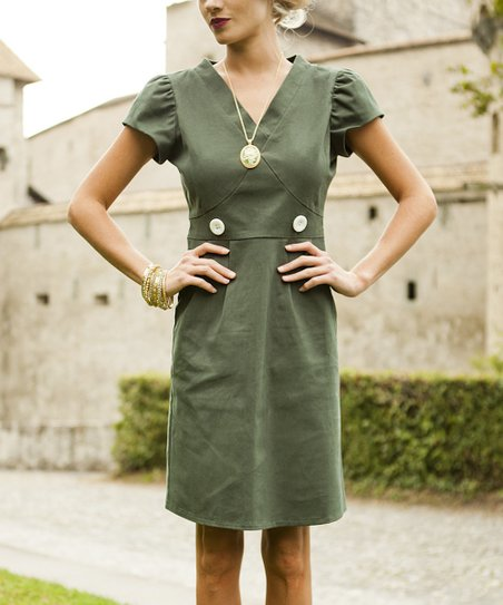 Green Country Manor Dress
