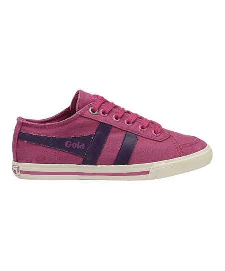Maroon & Purple Quota Suede Sneaker