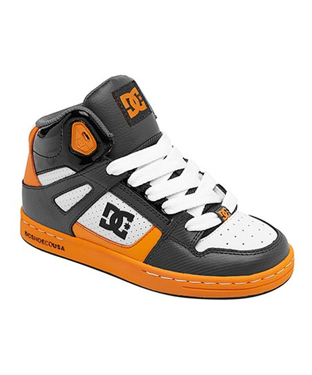Black & Orange Rebound Sneaker