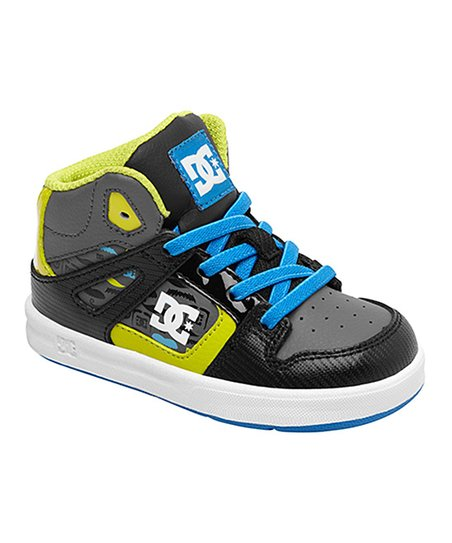 Black & Neon Yellow Rebound SE UL Hi-Top Sneaker