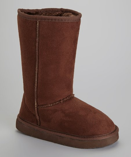 Brown Snow Boot