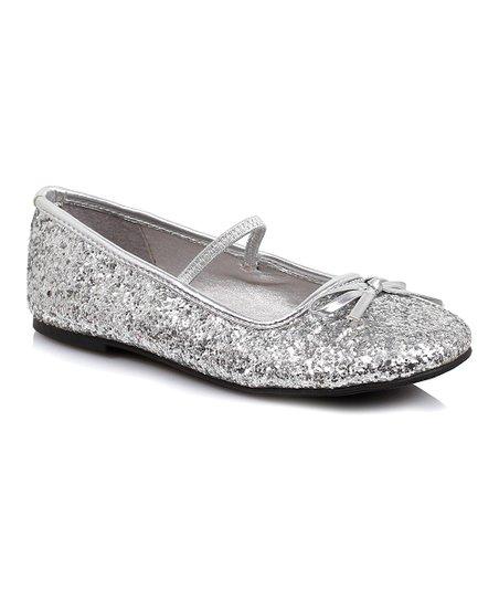 Silver Glitter Flat