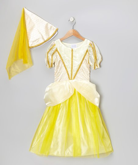Golden Classic Princess Dress-Up Set - Girls