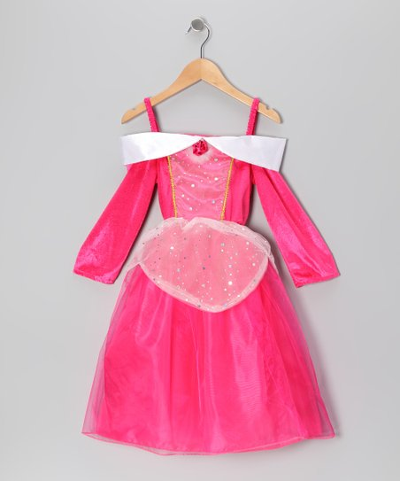 Hot Pink Princess Dress - Toddler & Girls
