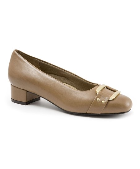 Dark Taupe Doris Signature Pump