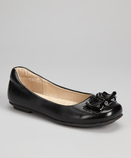 Black Skipalong Ballet Flat