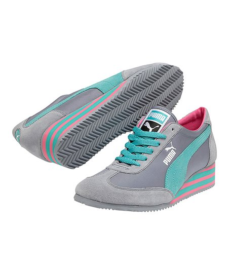 Tradewinds Caroline Stripe Wedge Sneaker - Women