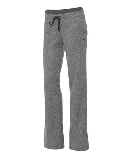 Gray Heather ESS Fleece Gym Pants