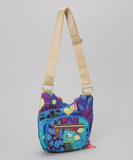Purple LilyZen Crossbody Bag